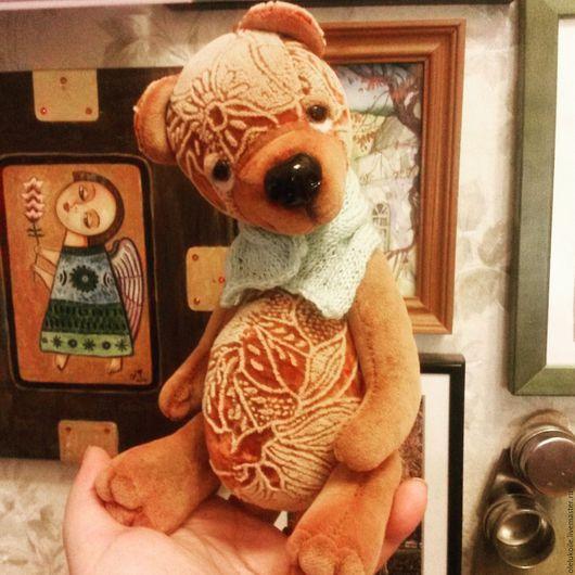 Мишки Тедди ручной работы. Ярмарка Мастеров - ручная работа. Купить Медведь Платон. Handmade. Коричневый, лучший подарок, подарок