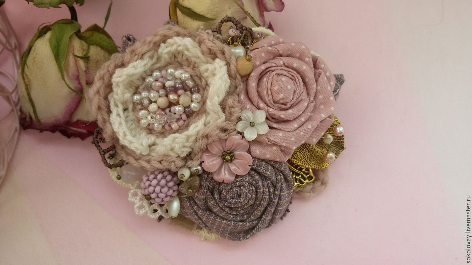 Copy of Brooch Spring in Provence, Brooches, Moscow,  Фото №1