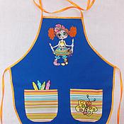 Для дома и интерьера ручной работы. Ярмарка Мастеров - ручная работа Фартук для детского творчества. Handmade.