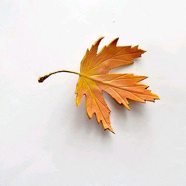 Украшения ручной работы. Ярмарка Мастеров - ручная работа Осенний листопад.. Handmade.