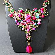 Украшения handmade. Livemaster - original item Bow-Butterfly Necklace