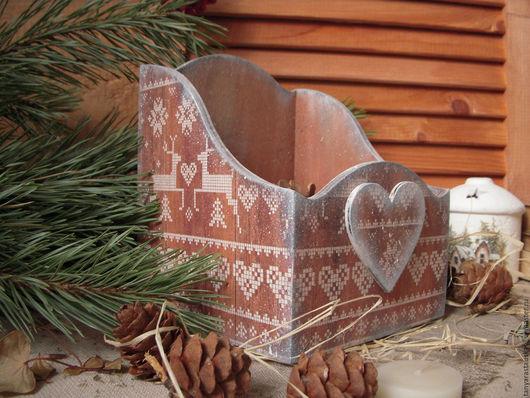 короб для хранения, короб для кухни, короб для специй, ручная работа купить, рождество, новый год 2017, короб для сладостей, подарок на Рождество, подарок на Новый год