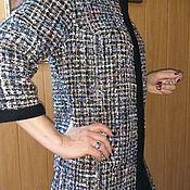 Одежда ручной работы. Ярмарка Мастеров - ручная работа Летнее пальто из твида. Handmade.