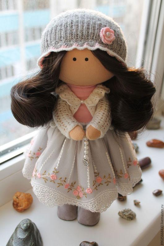 """Куклы тыквоголовки ручной работы. Ярмарка Мастеров - ручная работа. Купить Интерьерная кукла тыквоголовка """"Ангелочек"""". Handmade. Комбинированный, ангелочек"""