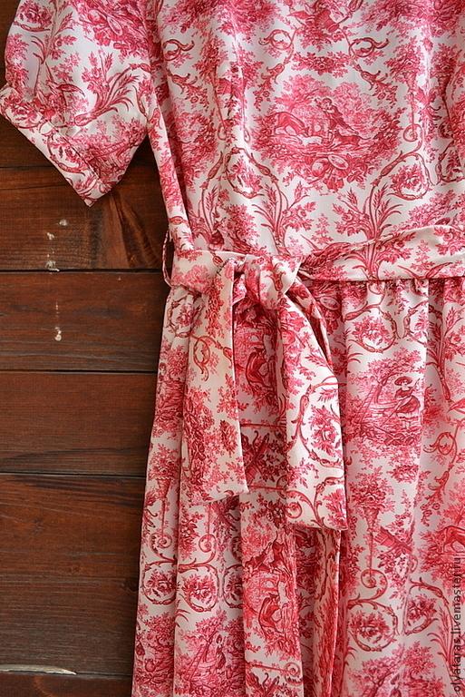 Платья ручной работы. Ярмарка Мастеров - ручная работа. Купить Платье шелковое в пол.. Handmade. Шелк натуральный, принт