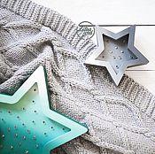 Для дома и интерьера ручной работы. Ярмарка Мастеров - ручная работа Детский Плед с Косами. Handmade.