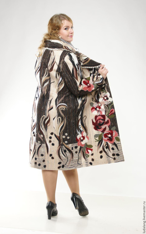 Купить пальто большого размера спб