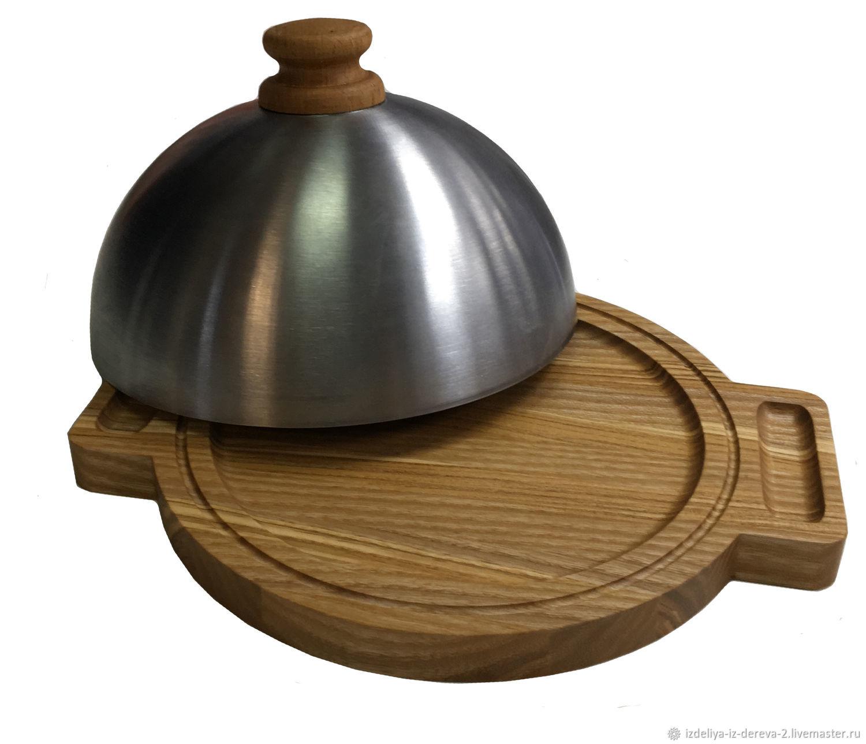 Сковородочка с крышкой 220х270, Доски, Уфа, Фото №1