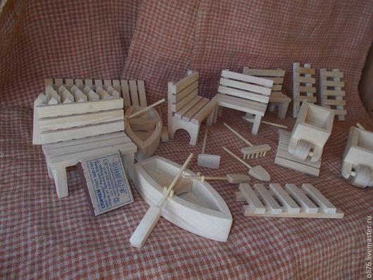 Кукольный дом ручной работы. Ярмарка Мастеров - ручная работа. Купить кукольная миниатюра. Handmade. Белый, дерево
