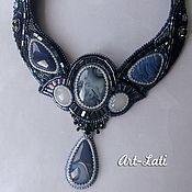Украшения handmade. Livemaster - original item Geya necklace with timan agates. Handmade.