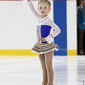 Работы для детей, handmade. Livemaster - original item Dress for figure skating. Handmade.