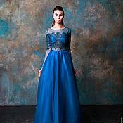 """Одежда ручной работы. Ярмарка Мастеров - ручная работа """"Ультрамарин"""" -  вечернее платье. Handmade."""