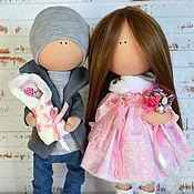 Куклы и игрушки ручной работы. Ярмарка Мастеров - ручная работа Молодая семья. Handmade.