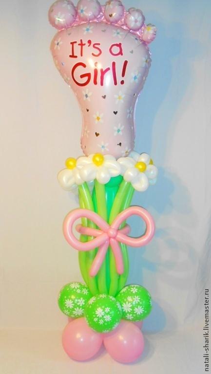 Подарки для новорожденных, ручной работы. Ярмарка Мастеров - ручная работа. Купить Композиция с детской ножкой - подарок молодой маме.. Handmade.