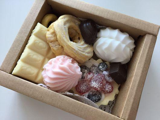 """Мыло ручной работы. Ярмарка Мастеров - ручная работа. Купить Набор мыла """"сладкий подарок"""". Handmade. Мыло ручной работы"""