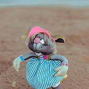 Мягкие игрушки ручной работы. Ярмарка Мастеров - ручная работа Игрушки: Крыска Мечтательница. Handmade.