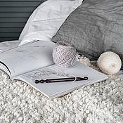 Материалы для творчества handmade. Livemaster - original item 10mm Cedar Wood Knitting Hook. K285. Handmade.