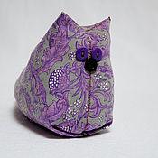Куклы и игрушки ручной работы. Ярмарка Мастеров - ручная работа Сиреневый кот. Handmade.