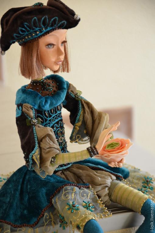 """Коллекционные куклы ручной работы. Ярмарка Мастеров - ручная работа. Купить Кукла """"Тома"""". Handmade. Морская волна, коллекционная кукла"""