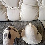 Одежда ручной работы. Ярмарка Мастеров - ручная работа Шапка из натуральной овечьей шерсти войлок. Handmade.