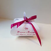 Свадебный салон handmade. Livemaster - original item Bonbonniere. Gift for the guests. Bonbonniere. gift for guests. Handmade.