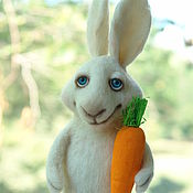 Куклы и игрушки ручной работы. Ярмарка Мастеров - ручная работа Кролик. Handmade.