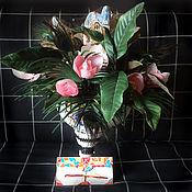 Цветы и флористика ручной работы. Ярмарка Мастеров - ручная работа Весна в Барселоне. Handmade.