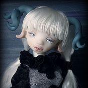 Куклы и игрушки ручной работы. Ярмарка Мастеров - ручная работа Оленерожка. Шарнирная кукла. Handmade.