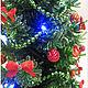 Деревья ручной работы. Заказать Новогодняя елка. Елена Лобастова. Ярмарка Мастеров. Елка из бисера, деревья из бисера, елки зеленые
