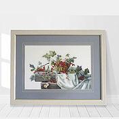 Картины и панно handmade. Livemaster - original item Panels: Red currant. Handmade.