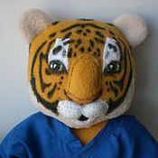 Куклы и игрушки handmade. Livemaster - original item tiger Zhorik. Handmade.