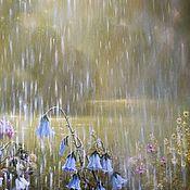 Картины и панно handmade. Livemaster - original item Sunny rain (Vladimir Tarasov). Handmade.