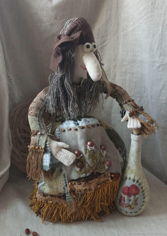 Чай с грибочками. Баба на чайник, Декор в стиле Тильда, Таганрог,  Фото №1