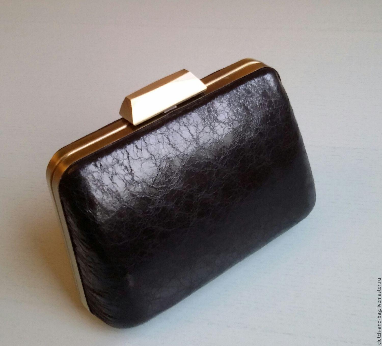 8684a1e51d44 Женские сумки ручной работы. Ярмарка Мастеров - ручная работа. Купить  Вечерний клатч черный винтажный ...