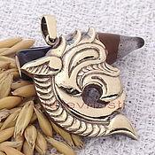 Фен-шуй и эзотерика handmade. Livemaster - original item Scythian Dragon amulet 1 talisman amulet made of metal. Handmade.