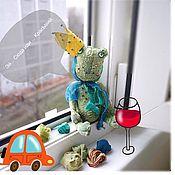 Куклы и игрушки ручной работы. Ярмарка Мастеров - ручная работа лягушачий принц. Handmade.