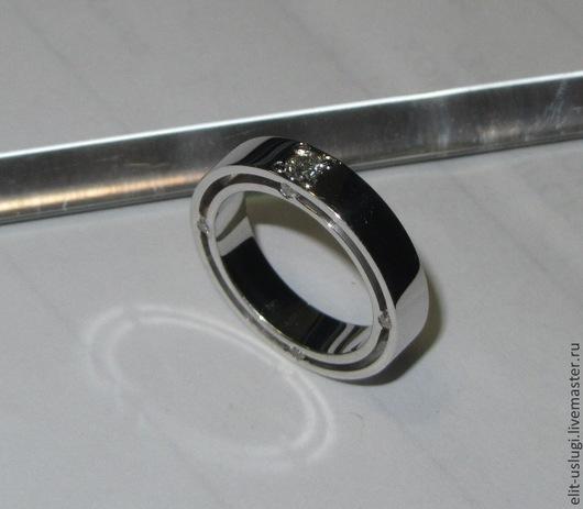 Кольца ручной работы. Ярмарка Мастеров - ручная работа. Купить Двойное кольцо. Handmade. Серебряный, золото
