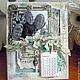 """Календари ручной работы. Ярмарка Мастеров - ручная работа. Купить Календарь-рамка """"С бабушкой"""". Handmade. Бежевый, рамка для фотографии"""