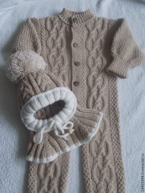 Вязание для новорожденных и малышей спицами и
