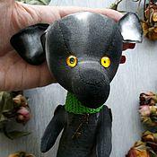 Мягкие игрушки ручной работы. Ярмарка Мастеров - ручная работа Странная собачка Соня. Handmade.