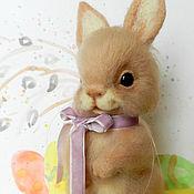 Куклы и игрушки ручной работы. Ярмарка Мастеров - ручная работа Пасхальный зайчик. Handmade.