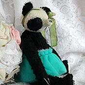Куклы и игрушки ручной работы. Ярмарка Мастеров - ручная работа Мишка панда Вики маму нашла. Handmade.