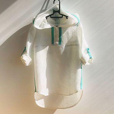 Одежда ручной работы. Ярмарка Мастеров - ручная работа Льняная туника. Handmade.