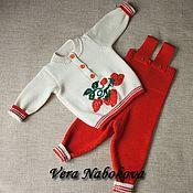 Комплекты одежды ручной работы. Ярмарка Мастеров - ручная работа Комплекты одежды: Комплект детский из шерсти Моя ягодка. Handmade.