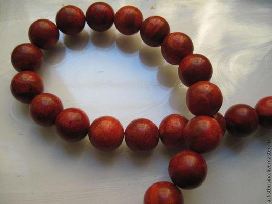 Для украшений ручной работы. Ярмарка Мастеров - ручная работа. Купить красный коралл бусины 14мм. Handmade. Коралловый