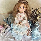Шарнирная кукла ручной работы. Ярмарка Мастеров - ручная работа Софья. Текстильная шарнирная кукла. Handmade.