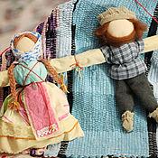 Куклы и игрушки ручной работы. Ярмарка Мастеров - ручная работа Народная кукла-оберег Неразлучники. Handmade.