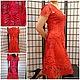 "Dresses handmade. Livemaster - handmade. Buy Dress ""Gladiolus"".Lace, lace bobbin"