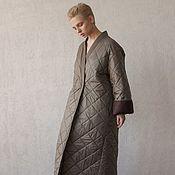 Одежда handmade. Livemaster - original item VEGA insulated kimono coat. Handmade.