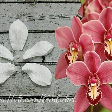 Материалы для творчества ручной работы. Ярмарка Мастеров - ручная работа Молд для фоамирана орхидея цимбидиум(набор). Handmade.